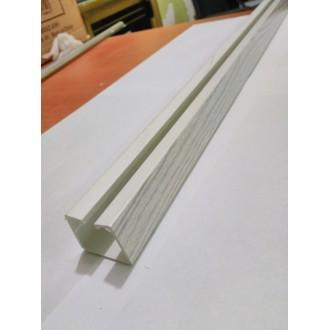 AKORDEON KAPI RAYI 3x3 cm, AHŞAP DESENLİ